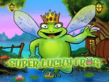 Играть на деньги в Супер Удачливая Лягушка